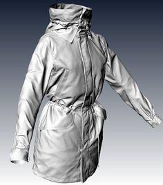 Jacket 3D scan