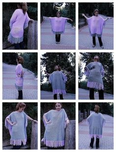 Hand knitted Gray-pink $150.00