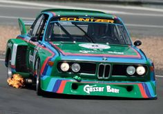 BMW CSL 3.5  Drivers: Dieter Quester and Albrecht Krebs, winners of the 1000 km Nürburgring 1976
