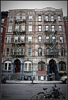 Print of Led Zeppelin's Physical Graffiti Building —