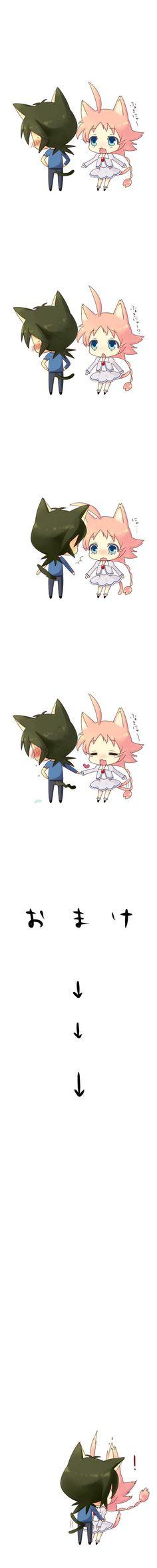 Fakir ❤ Ahiru ~ OMG the cutest thing ever ((o(>///w///<)o))