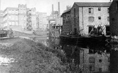 Nottingham to Beeston Canal, London Road, Hermit Street, 1921 Black Hood, Nottingham, Family History, Geology, Roads, Nostalgia, Castle, In This Moment, London