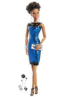 The Barbie Look®  Barbie®  Doll – Night Out  -  Pinned 11-28-2015.