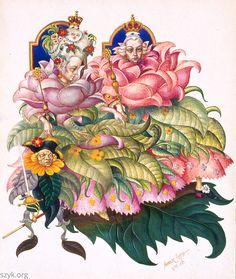 Arthur Szyk, 1945. Andersen's Fairy Tales. Little Ida's Flowers. New York.