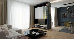 PROIECT CD-1045 « Firmă de construcții case Modern Family House, Modern House Design, 2 Storey House Design, Mediterranean Homes, Facade House, Bungalow, House Plans, Construction, How To Plan