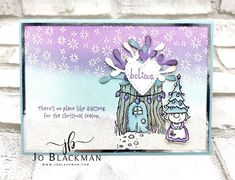 JoBlackman.com: Stampin' for Christmas Monthly Blog Hop - September ... Tools Uk, Special Birthday, Card Maker, Wow Products, Xmas Cards, Gnomes, Card Stock, Stampin Up, Christmas Crafts
