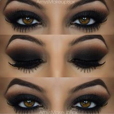 Dramatic fall smokey eye