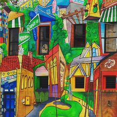 Overton Square, Memphis, Tennessee | mural | street art