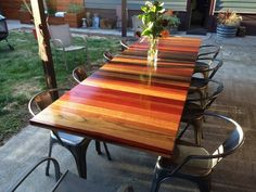 Hey, I found this really awesome Etsy listing at https://www.etsy.com/listing/197017954/reclaimed-dine-table-clear-finish-no