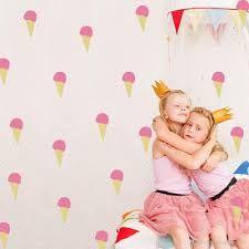 Ice Cream Wall Sticker Kids Room Nursery Home Decor Removable Cream Wall Stickers, Kids Room Wall Stickers, Diy Stickers, Contemporary Wall Stickers, Instagram Wall, 3d Wallpaper, Vinyl Art, Decoration, Bedroom Decor