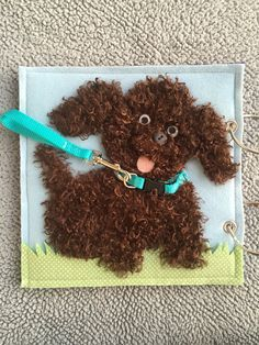 Puppy Quiet Book Page by HannasQuietBooks on Etsy