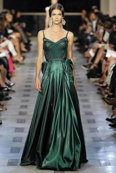 PJ - MG - FASHION : Emerald green