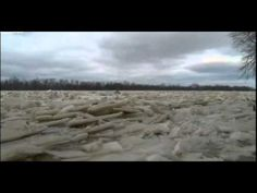 Frozen Maumee river prompts Ohio flood warnings