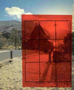 Artyfacts: Fun Artists' Tools - Use red acetate to more easily see darks and lights