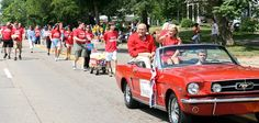 The parade will be held in Depot Town on Monday, July 4th at 11am. The parade will include veterans, marching bands, ElvisFest, local businesses, church groups, live bands and classic cars.