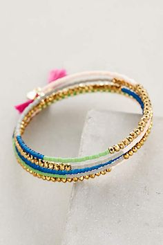 Bracelet la vie est belle clio blue