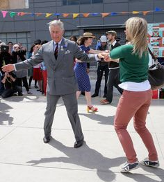 Pin for Later: 27 Pictures of the Royal Family Dancing Their Bums Off Charles in New Zealand in November 2012