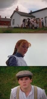 Walking the ridge pole - words cannot express how much I love Anne of Green Gables :D