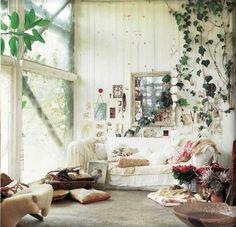 Boho living rooms | 18 Boho Chic Living Room Decorating Ideas - Decoholic Interior Design ...