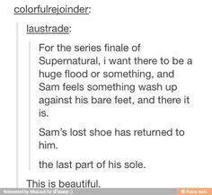 Supernatural fandom... you okay? << we are never ok