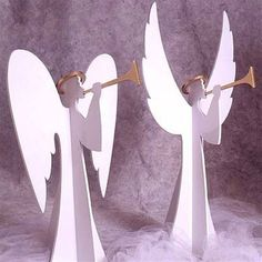 Heavenly Winds Angels Woodworking Plan