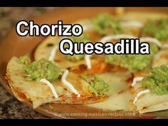 How To Make A Breakfast Quesadilla With Chorizo | Rockin Robin Cooks - YouTube