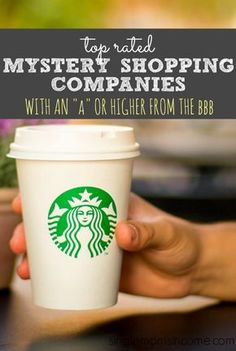 "The mystery shopping industry is rampant with scams. Here are six top rated mystery shopping companies with an ""A"" or higher from the BBB."