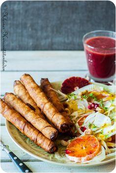 Kleiner Kuriositätenladen: Sigara böregi - türkische Teigröllchen mit Fetafüllung