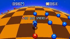 The return of the famous spherical stage planet with blue spheres, red spheres and yellow spheres as the Special Stage in Sonic The Hedgehog 3 & Knuckles what is now Bonus Stage on Sonic Mania.