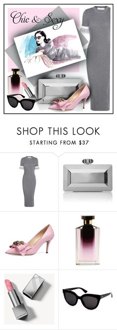 """style"" by sandevapetq ❤ liked on Polyvore featuring Victoria Beckham, Judith Leiber, Gucci, STELLA McCARTNEY, Burberry and Christian Dior"