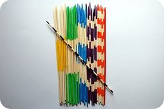 stripey sticks