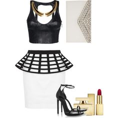 """""""Black and white"""" by linca-nikwigize on Polyvore"""
