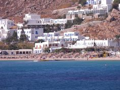 Pelagos Studios    Conveniently located just 50 meters from Plati Yalos Beach, Pelagos Studios enjoy a view of the beach and has easy access to most southern beaches of Mykonos.