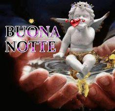 Puoi dire buonanotte usando una GIF! Qui ci sono 110 immagini animate Good Night, Good Morning, Italian Life, Say Hello, Grinch, Christmas Ornaments, Holiday Decor, Facebook, Madonna