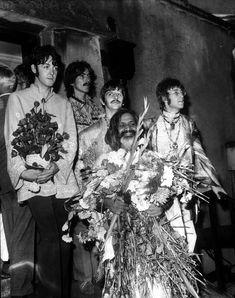 The Beatles with the Maharishi Mahesh Yogi