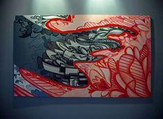 """Finalmente la pieza """"Abriendo Caminos"""" esta montada en las oficinas médicas PMG de Caguas, Puerto Rico.   www.cacheila.net   Fotografía por: Israel Vazquez"""