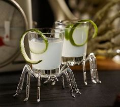 Spider Shot Glass | Pottery Barn Halloween 2014