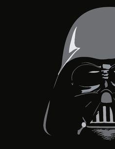 Just the Darth by BlueWho Star Wars Pop Art, Star Wars Room, Star Wars Quotes, Star Wars Humor, Darth Vader, Cuadros Star Wars, Star Wars Painting, Star Wars Wallpaper, Star Wars Poster