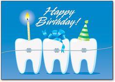 Resultado de imagen de happy birthday dentist images