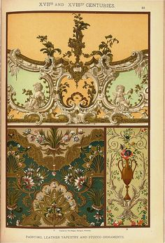 -- Historic styles of ornament -- Author: Dolmetsch, H Fine Art Prints, Framed Prints, Poster Prints, Canvas Prints, Arabesque, Palm Springs Mid Century Modern, Sea Drawing, Elements Of Style, Painting Leather