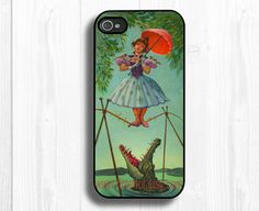 iphone 5 caseHaunted Mansion Stretching Painting iPhone by timehot