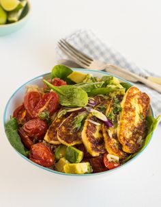 Haloumi and Couscous Salad l heinstirred