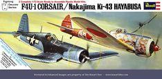 Revell F4U-1 Corsair-Ki-42 Hayabusa
