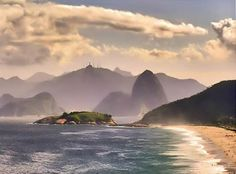 Piratininga Beach near Niteroi, RJ   Used to come here every weekend with my family growing up :)