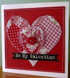 Be My Valentine Valentines Day Card