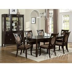 Shop For Acme Furniture Dining Table Set 08320 SET And Other Room Tables At Merinos Home Furnishings In Mooresville NC X 68