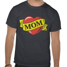 I Love Mom T-shirt!