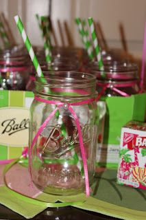 Lily Pulitzer themed bridal shower!
