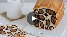 Après le cake zébré et le moelleux tigré, voici le pain léopard : LA brioche qui fera sensation sur la table du...