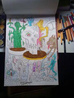 Fun doodling by lazaros.kalogirou on YouPic Photo, Fine Art, Painting, Doodles, Art